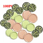 Lot of 100pc Flattened Beer Bottle Caps (Flat Linerless Double Sided Painted)