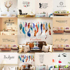 Art Vinyl Family DIY Removable Quote Word Wall Sticker Mural Home Decor Decal