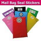 Plastic Mailing Bag - Packaging Security Seals - Choose Your Sticker Size