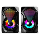 USB computer portable home desktop small speakers colorful wired large volume