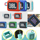 Portable Silicone Protective Cover Skin For JBL GO 3 Wireless Bluetooth Speaker