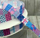 PRINTED GROSGRAIN RIBBON 3 Sizes in 1/3/5 Yards Tribal Aztec Southwest Stripe