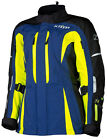 Klim Womens Hi-Vis Yellow/Blue/Black Altitude Touring Motorcycle Jacket