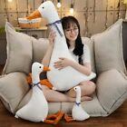 Big White Goose Plush Toy Cute Sleeping Pillow High Quality Stuffed Funny Gift