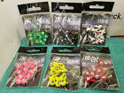 Jig heads Choose sizess~colors Free Shipping (20 jigs) compare to Mr Crappie