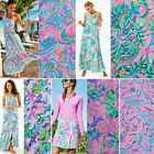 Lilly Pulitzer Polyester Lileeze Fabric BTY 36' X 57'