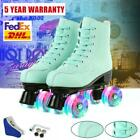 Women Roller Skates High-top Four-Wheel Double Row Roller Skate Youth Girl FedEx
