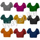 Women's Cotton Blouse Stitched Short Sleeves Handmade Suitable for Saree Blouse
