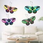 Artificial Home Wall Art 3d Tv Background Hanging Decorations Metal Butterfly