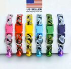 Camo Dog Collar Nylon Adjustable Collars for Dogs Puppy and Cat