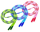 Adjustable Length Tangle-Free Segmented Soft Beaded Fitness Skipping Jump Rope