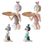 Resin+Art+Girl+Figurine+Fashion+Statue+Ornament+for+Desk+Party+Decor+Gifts