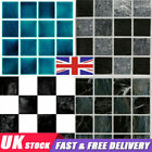 30x Kitchen Tile Stickers Bathroom Mosaic Sticker Self-adhesive Wall Home Decor