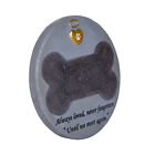 Pet Memorial Stone Dog Engraved Headstone Grave Art Garden Marker Paw Tombstone