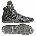 Adidas Flying Impact Wresting Boots Adult Mens Green Boxing Shoes Gym Trainers