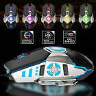RGB LED Wired/Wireless Gaming Mouse Adjustable DPI Ergonomic Mice for Laptop PC