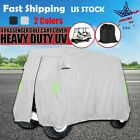 4 Passenger Lifted Golf Cart Storage Cover For Club Car EZGO Yamaha 112x48x66 in