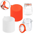 12/24 PCS Silicone Ring Jar Replacement Gasket for Regular Canning Seal Airtight
