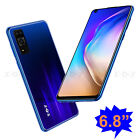 6.8 Inch Android 10 Smartphone Unlocked Mobile Phone Dual Sim Quad Core 16gb New