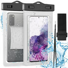 Float Waterproof Phone Pouch Underwater Swimming Cell Phone Case Cover Dry Bag
