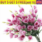 7 Heads Artificial Silk Flowers Fake Hotel Home Party Grave Garden Office Decor