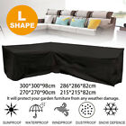 Au Shape Outdoor Furniture Cover Waterproof Sofa Lounge Seat Couch Cover Garden