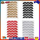 42pcs Nordic Triangle Self-adhesive Sticker Decals Kids Room Home Decor