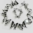Home Wall Sticker Decal Decor Decoration Stickers Wall 12/24pcs 3d Durable