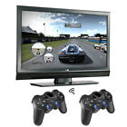 2x 2.4G Wireless Game Controller Gamepad Joystick für PS3 Android TV Box Tablet