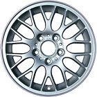 16 X 7, Mesh Refurbished OEM BMW Alloy Wheel All Painted Silver 59270