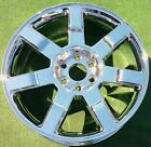 NEW+2007+2008+2009+Cadillac+Escalade+Chrome+OEM+GM+Factory+Spec+22+in+WHEEL+5309