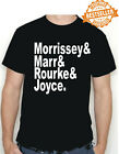 "The Smiths T-shirt ""Morrissey&Marr&Rourke&Joyce"" / INDIE MUSIC / Xmas  All Sizes"
