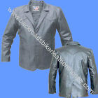 Allstate Leather MENS 3 BUTTON LEATHER DRESS BLAZER COAT ...