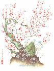 Ceramic Decals Oriental Blossom Floral Branch Tree image