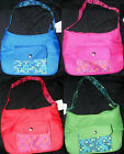 Blue Pink Red OR Green Insulated Lunch Purse Tote Bag