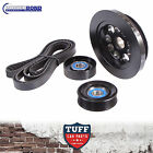 BA BF FG Ford Falcon 6 Cyl & XR6 Turbo 20% Underdrive Balancer Pulley & Belt Kit
