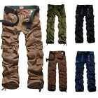 NEW MATCH Men's Cargo Pants Black Blue Beige 30-36