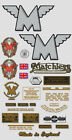 1950-52: Matchless Decals -RESTORERS DECAL SET