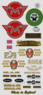 1968-69: Matchless Twins -RESTORERS DECAL SET-Decals