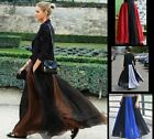 100% Silk Skirt Full Circle Long Skirt Maxi Silk Skirt XS S M L XL XXL 3XL AF691