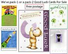 1 Good Luck Card Lucky New Job Or Driving Test Best Of Luck UK Mainland Free P&P