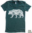 Womens CALIFORNIA BEAR t shirt american apparel SM-XL