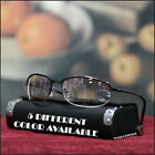 NEW MENS SEMI RIMLESS SUNGLASSES SPROTY CYCLE AMBER ETC