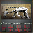 Banksy Canvas Star War I Am Your Father Graffiti Art More Color & Style & Size !