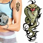 1 x SHEET BOYS MENS TEMPORARY TATTOOS LOOKS REAL SNAKES COBRA UK SELLER FREE P&P