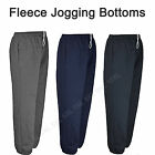 Mens Big King Size Fleecy Jogging Joggers Tracksuit Bottoms Trousers Elasticated