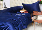 3 Pcs 30mm Heavy Weight 100% Mulberry Silk Duvet Cover Pillowcases Set All Size