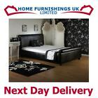 LUXURIOUS Royale 5ft Kingsize Faux Leather Bed FREE NEXT DAY DELIVERY