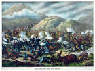 Decor Historical Poster. Fine Graphic Art. Battle of Horn. Home Wall Design 1220