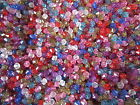 400 Acrylic Faceted Bicone Beads 6MM Choice of 10 colours - PINK/BLUE/MIX/BLACK
